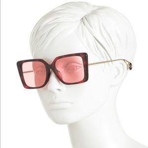GUCCI Square Designer Luxury Sunglasses